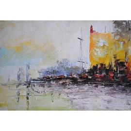 Port miejski (60x80cm)