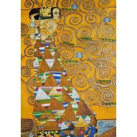 Klimt, Oczekiwanie (54x78cm)