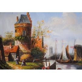 Flamand, pejzaż (50x60cm)