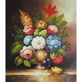 Kwiaty, bukiet (50x60cm)