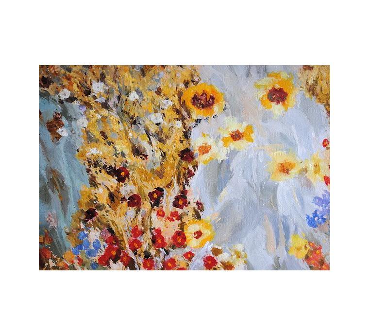 Łąka, Klimt (50x70cm)