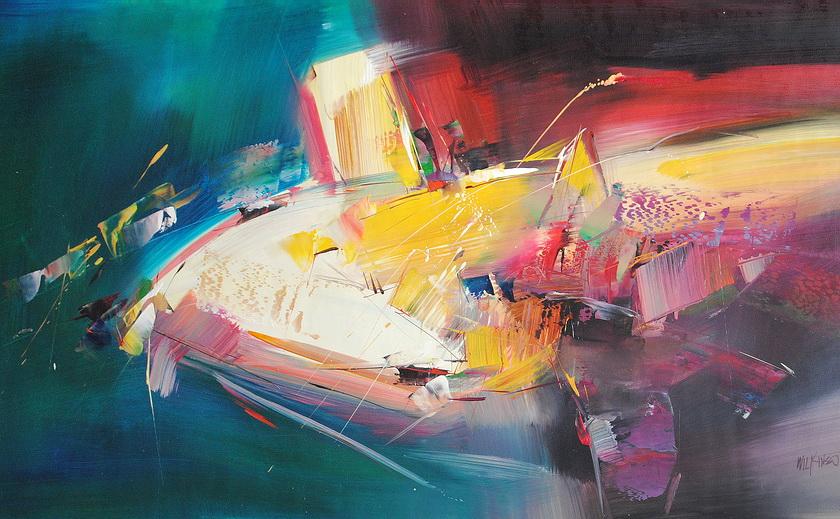 abstrakcje w nowoczesnym stylu